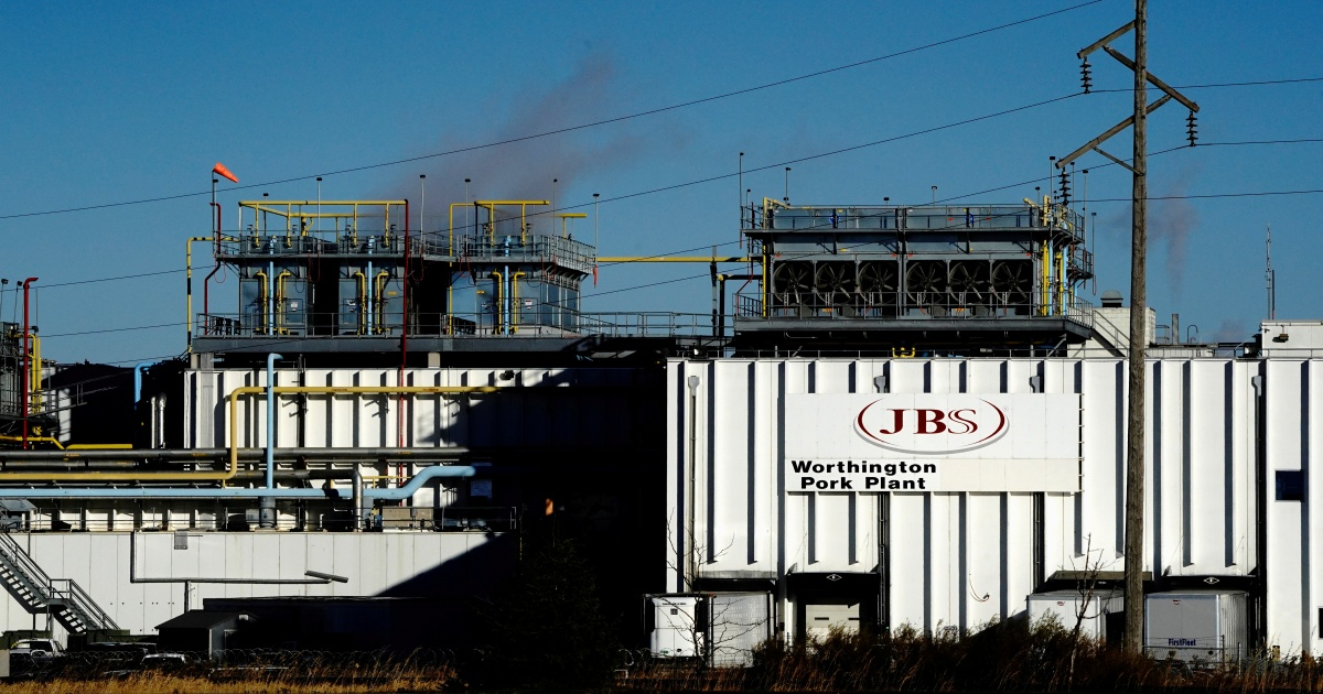 JBS blames Russian criminals for attack that shut meat production