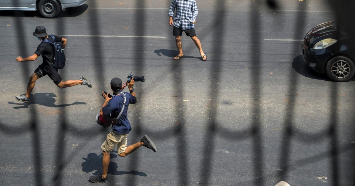 'I'm somewhere safe': Journalists hiding from Myanmar's military - aljazeera