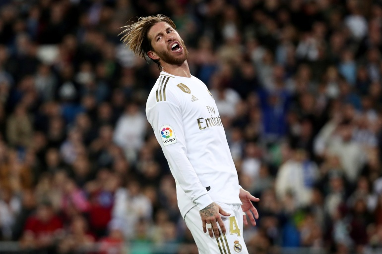 Ramos won 22 trophies during a 16-year stint at Real Madrid [File: Sergio Perez/Reuters]