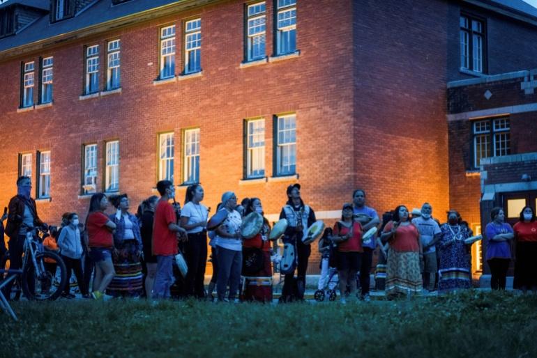 Montreal, Canada, Indigenous children, Kamloops Indian Residential School,British Columbia,Shingoose,Catholic Church,harbouchanews