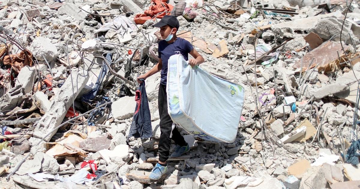 Gaza survivors face rebuilding – again – after Israel's attack thumbnail