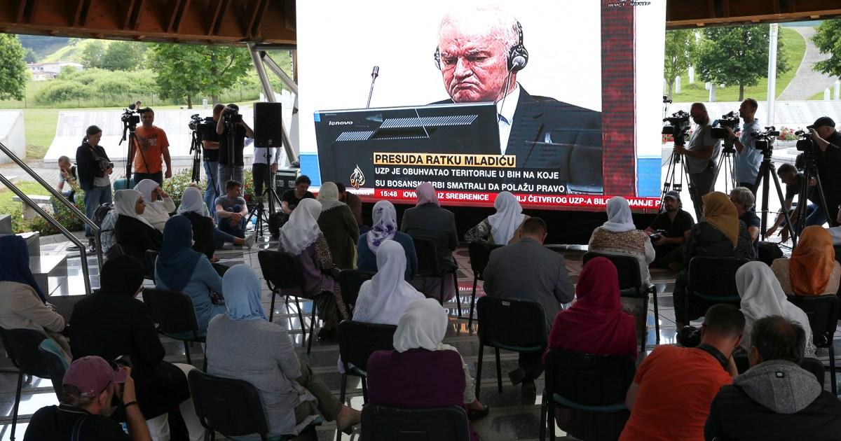 UN court upholds Ratko Mladic's war crimes, genocide convictions | Courts News