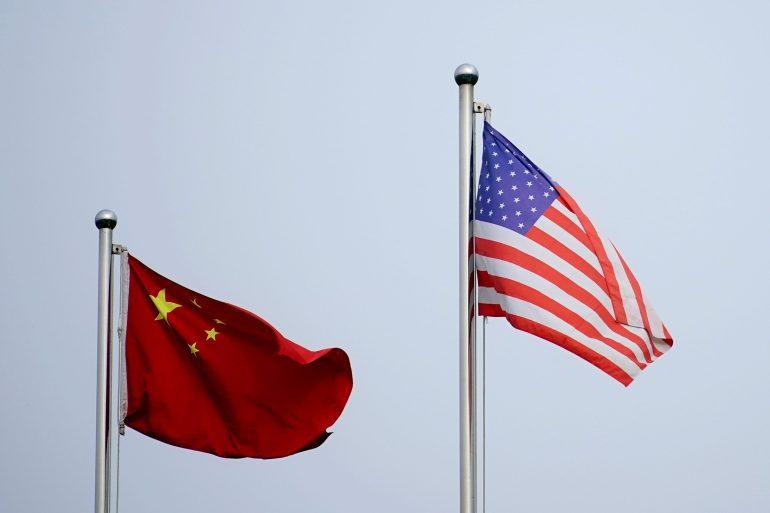 Departemen Perdagangan AS mengatakan 14 perusahaan ditambahkan ke Daftar Entitasnya atas transaksi mereka di Xinjiang, dan lima lainnya karena membantu angkatan bersenjata China Aly Song/Reuters