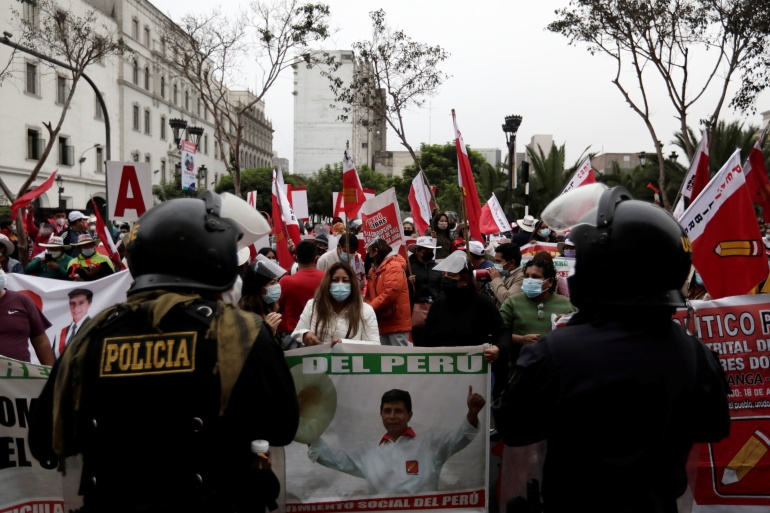 Uncertainty lingers as Peru edges closer to Castillo presidency | Elections News