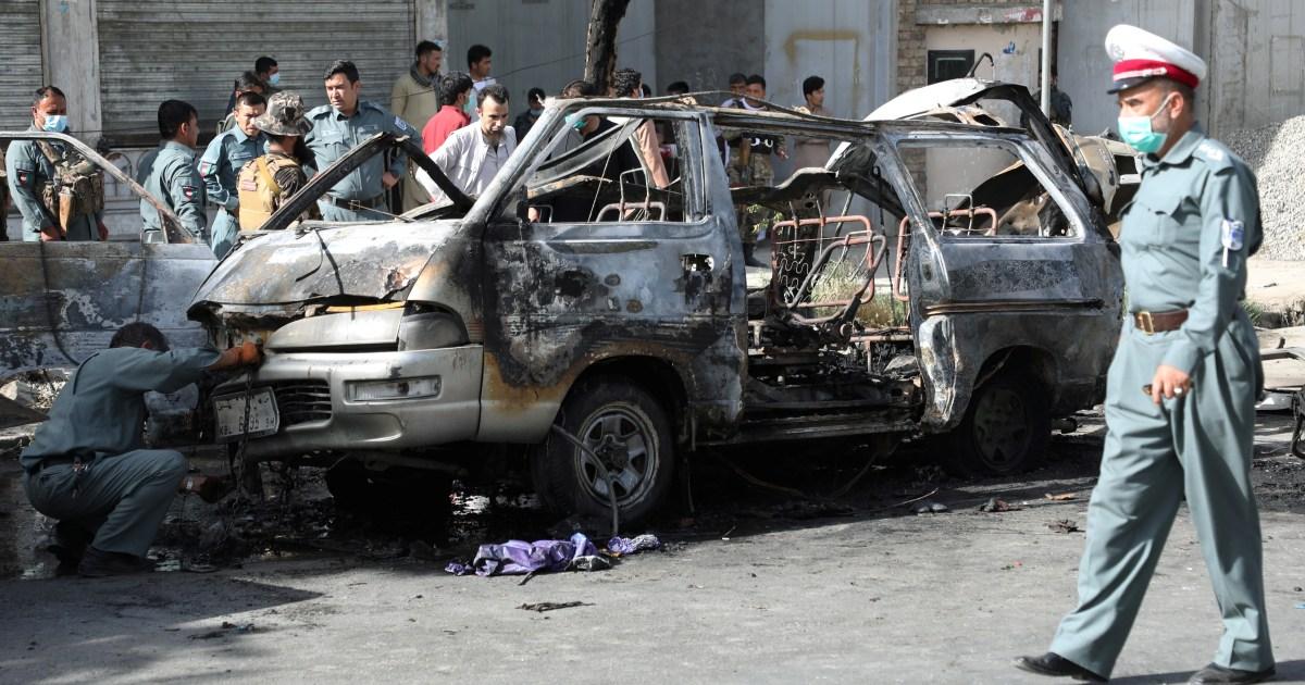 Seven killed in twin van bomb blasts in Afghanistan's Kabul