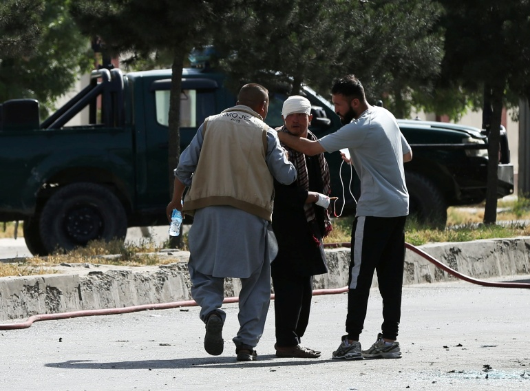 Seven killed in twin van bomb blasts in Afghanistan's Kabul,harbouchanews