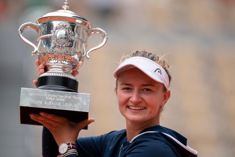 Roland Garros: Czech Barbora Krejcikova wins first French Open   Tennis  News   Al Jazeera