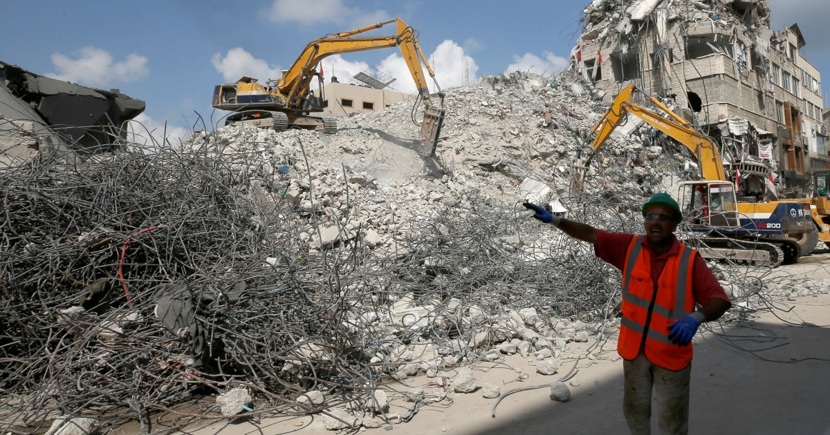 Gaza reconstruction process to start by October