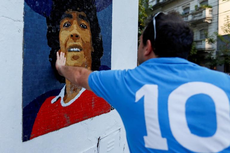 Maradona, yang memimpin Argentina menjuarai Piala Dunia 1986 dan dirayakan oleh para penggemar sepak bola di seluruh dunia, meninggal pada November di usia 60 tahun setelah menderita serangan jantung File Agustin Marcarian/Reuters