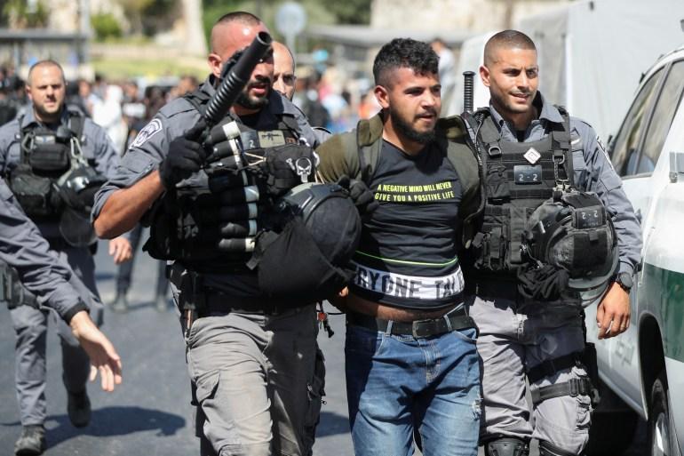 Organizações palestinas e seus funcionários também foram detidos pelas forças israelenses nos últimos dias [File: Ammar Awad/Reuters]