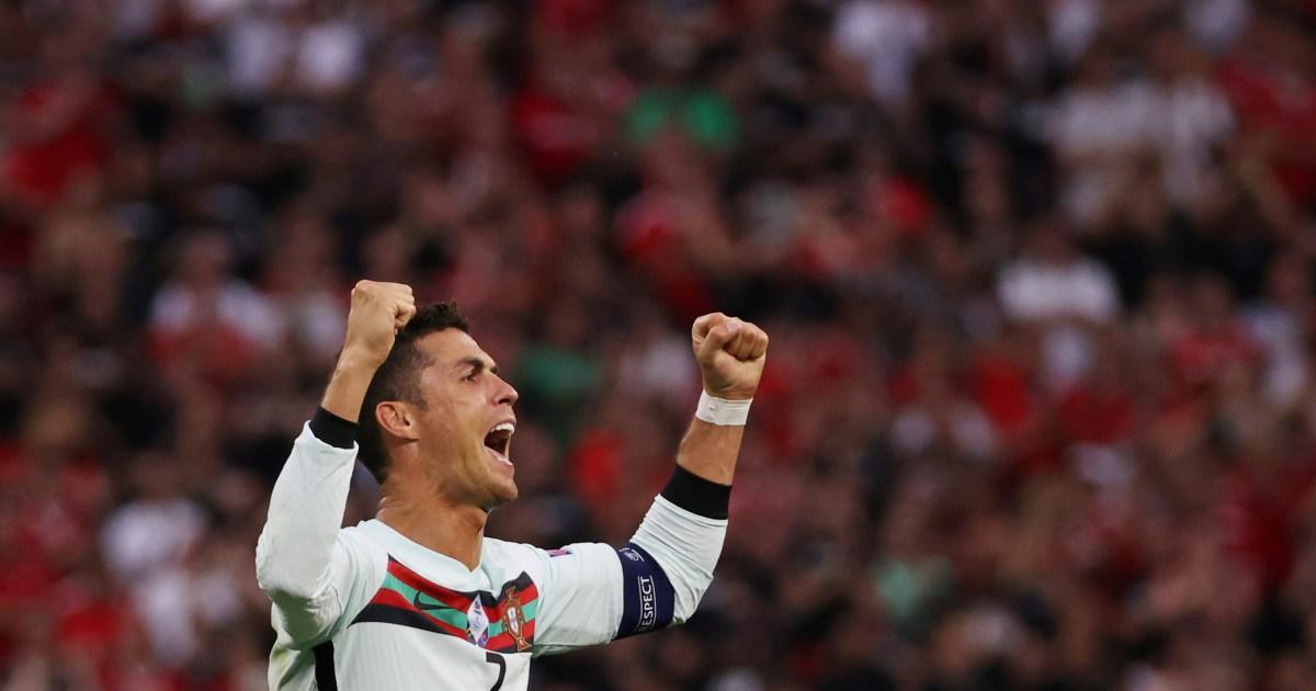 Euro 2020: Ronaldo breaks record as Portugal cruise past Hungary thumbnail
