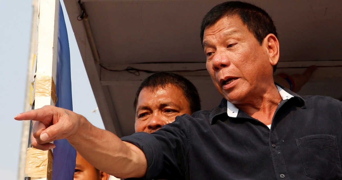 'Vaccine or jail?': Duterte warns as COVID's Delta variant surges