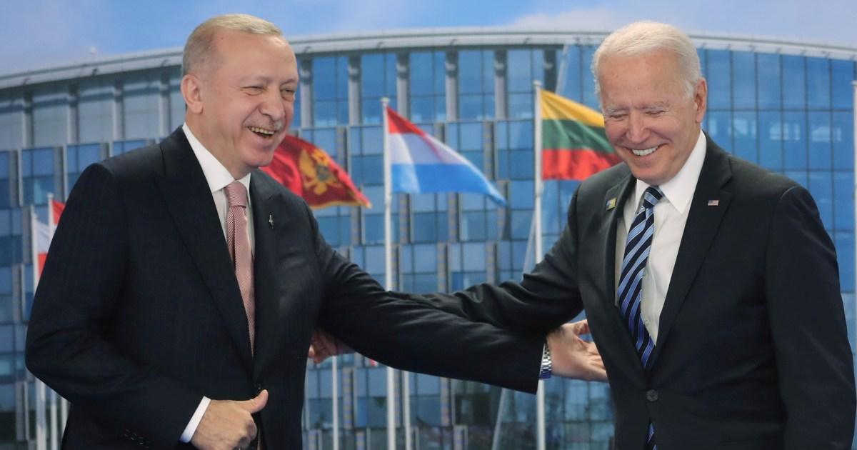 Photo of Biden-Erdogan did not resolve S-400 dispute during the meeting | Joe Biden News