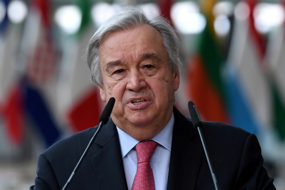 Guterres' appeal to Washington comes amid talks to revive the nuclear deal known as the Joint Comprehensive Plan of Action [File: John Thys/Reuters]