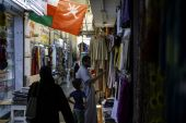 Young people in Oman took to the streets last month just weeks afer the country introduced a new value-added tax as part of financial reform efforts [File: Christopher Pike/Bloomberg]