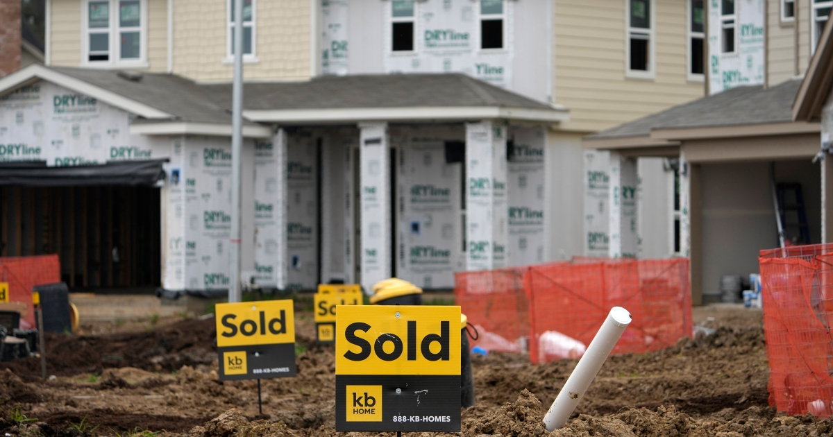 Prices of new US homes hit record high as sales fall unexpectedly