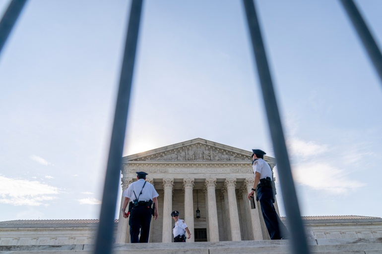 The Supreme Court said it will take up another 'state secrets' case this year [Andrew Harnik/AP Photo]