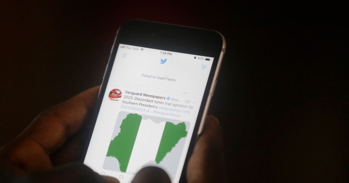 Dozens of Nigerians and a local rights group have filed a lawsuit at a regional court seeking to lift the government's ban on Twitter, describing th