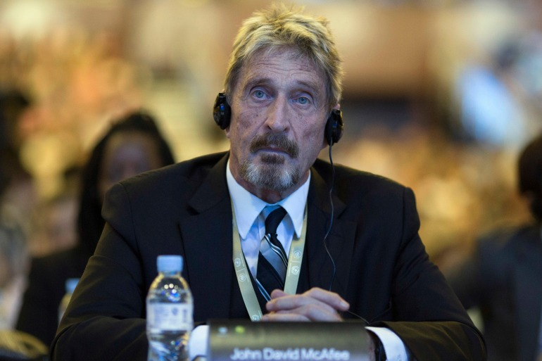 McAfee found dead in cell after Spanish court allows extradition AP21174543187776