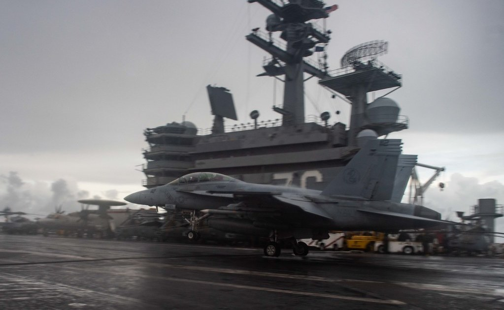 US Navy aircraft carrier USS Reagan enters South China Sea - Country  Highlights