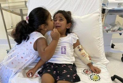 Australia feels pressure after refugee girl airlifted to hospital