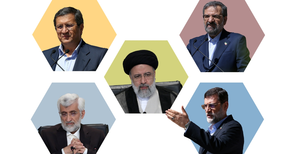 Infographic: Meet the men allowed to run for president in Iran