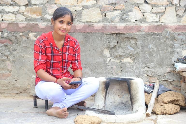 Priyanka Berwa convinced her parents to put off her marriage and started a movement [Devendra Kumar Sharma/Al Jazeera]