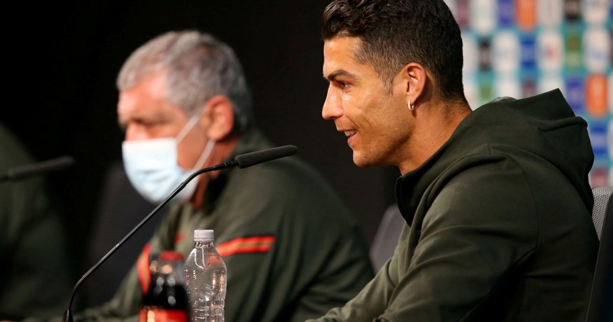 UEFA asks Euro 2020 players to stop removing sponsor bottles