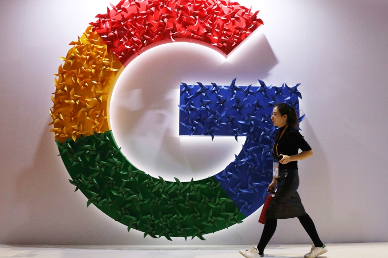 Google has said competition in online ads has made them more affordable and relevant, cut fees and expanded options for publishers and advertisers [File: Ng Han Guan/AP Photo]
