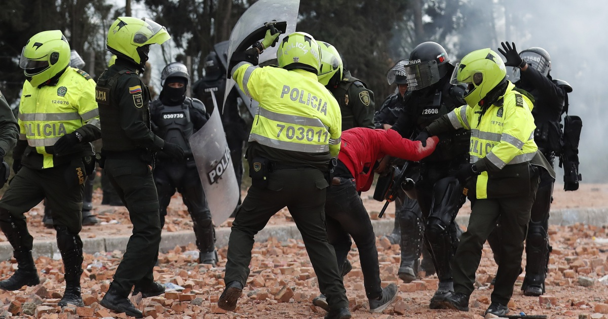 'Egregious' police abuse against Colombian protesters: Report