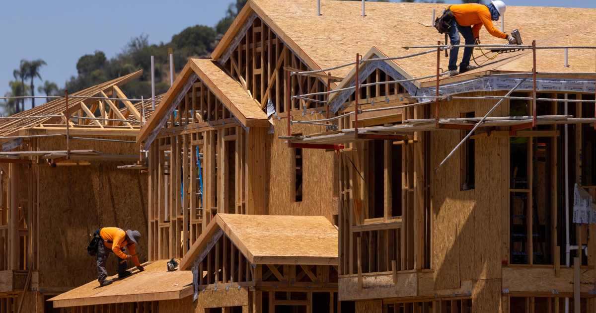 US new home construction misses target as lumber prices climb
