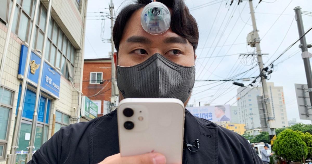 South Korea's 'Third Eye' for phone addicts