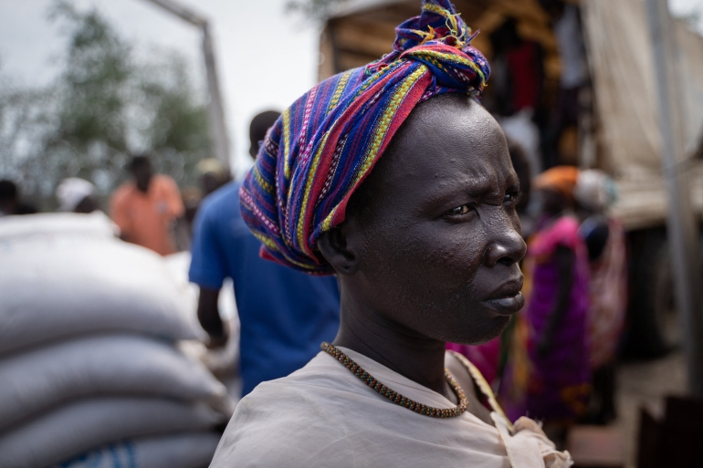 More than eight million people are reliant on aid, according to the UN, while tens of thousands of people still shelter in IDP camps across the country [File: Simon Wohlfahrt/AFP]