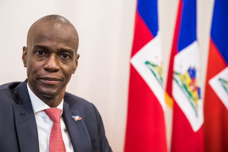 Moïse had faced fierce protests since he took office as president in 2017 [File: Valerie Baeriswyl/AFP]