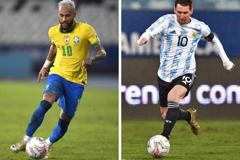 Final disebut sebagai 'Messi versus Neymar' File AFP
