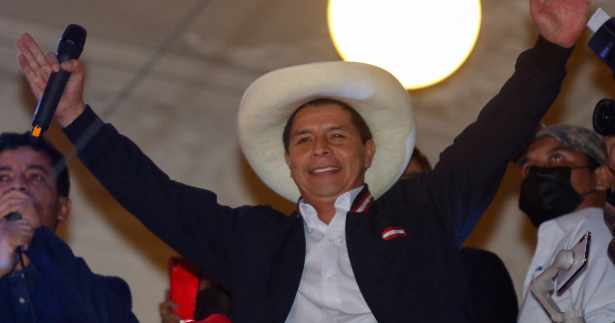 In divided Peru, Castillo says looking to form pluralistic gov't