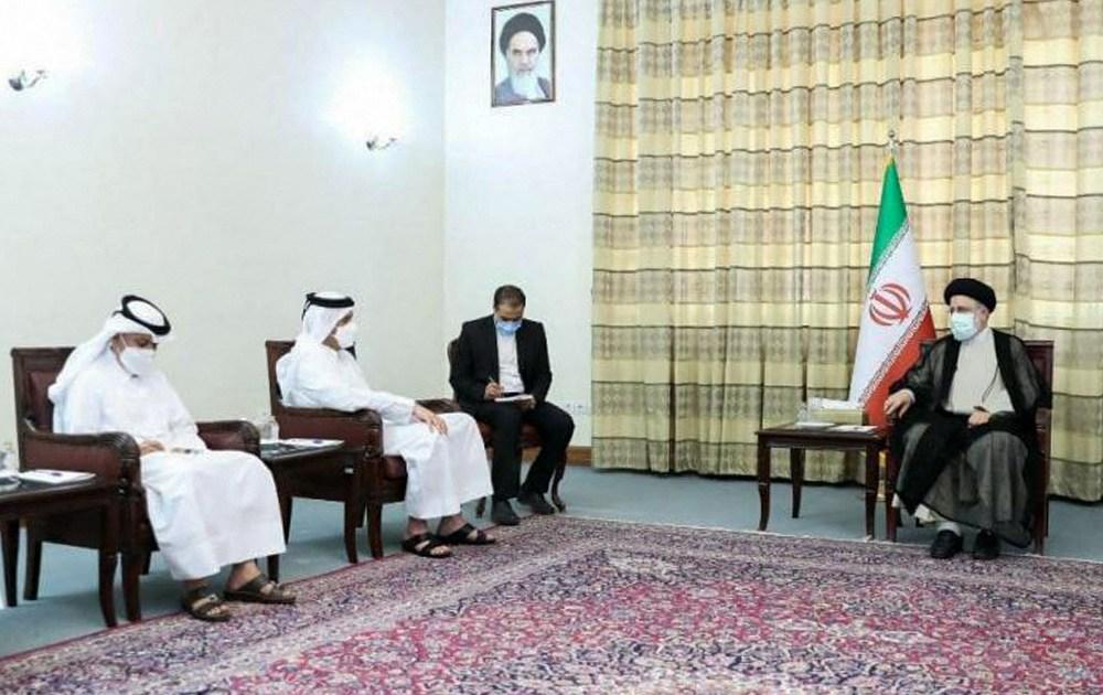 Qatar's foreign minister visits Iran to meet top officials