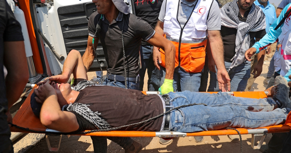 Israeli forces wound more than 250 Palestinian protesters