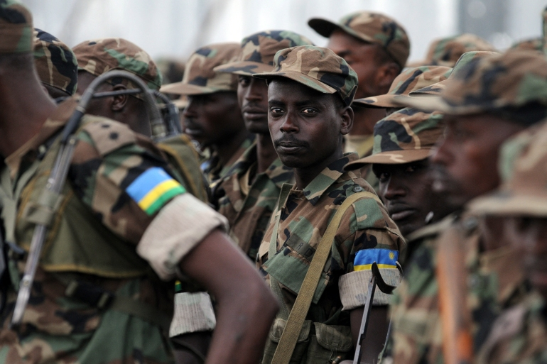 Rwanda said forces would have deployed in full by Saturday [File: Lionel Healing/AFP]