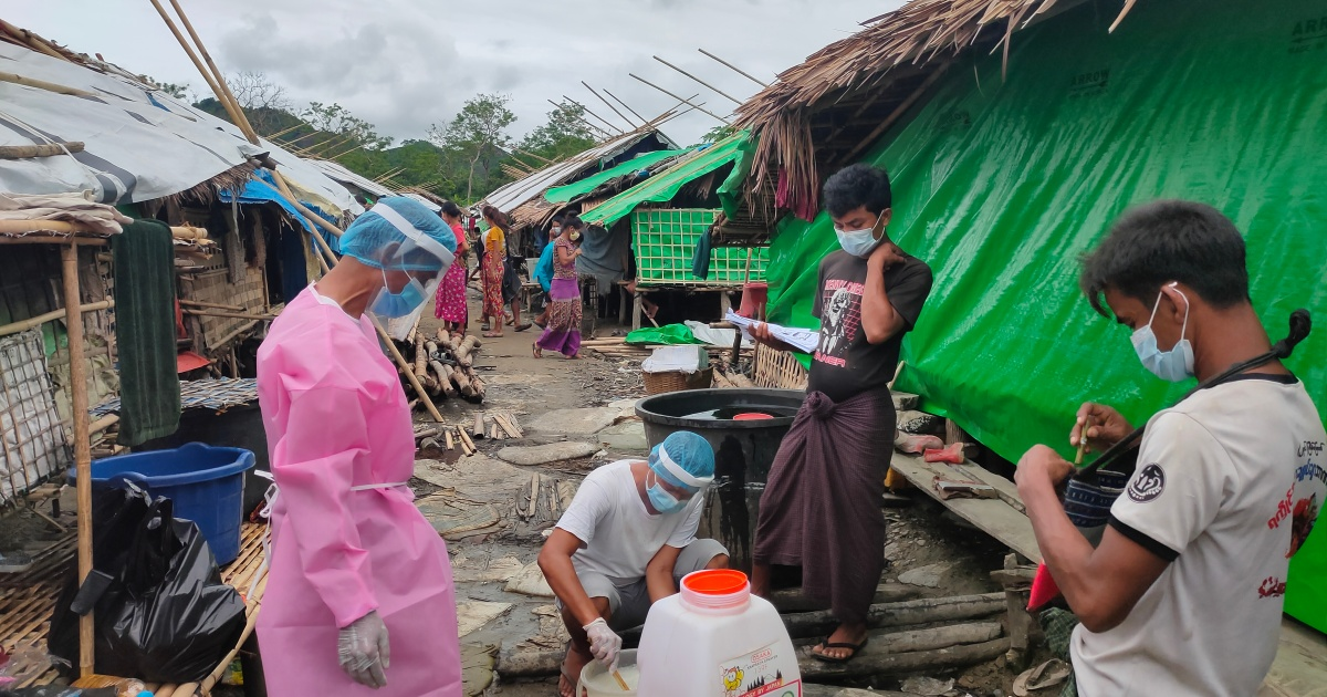 Food fears for displaced and locked down in Myanmar's Rakhine thumbnail