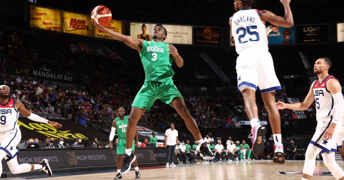 Nigeria stun US basketball team in pre-Olympic friendly game