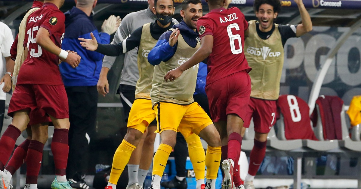 Photo of Asian champions Qatar beat El Salvador to advance to the semi-finals of the Gold Cup