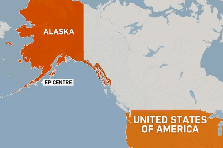 Eight aftershocks were recorded after the magnitude 8.2 earthquake hit the Alaska Peninsula. [Al Jazeera]