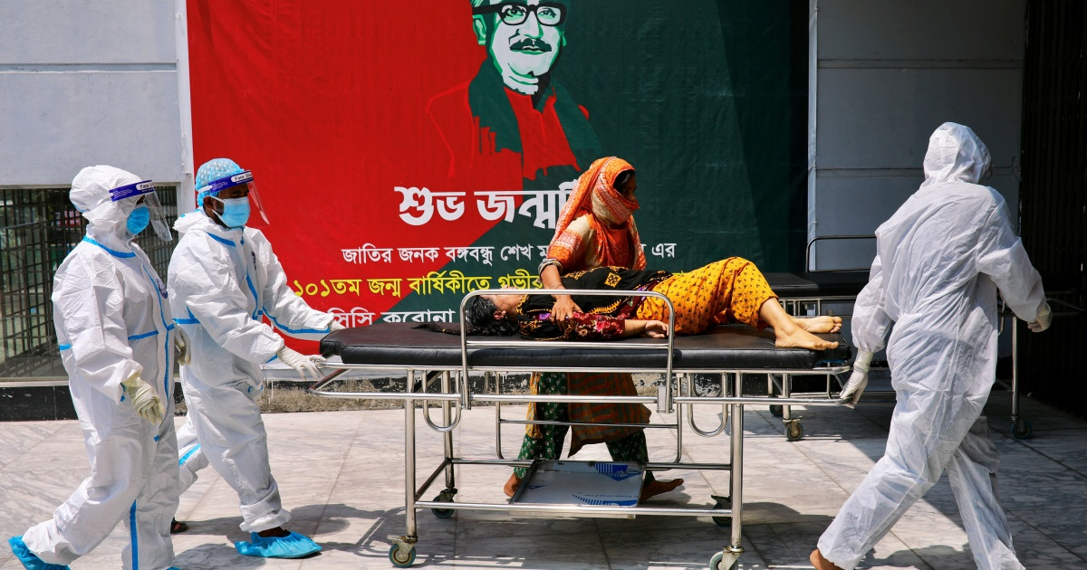 Bangladesh hits record COVID cases amid fears of oxygen crisis thumbnail