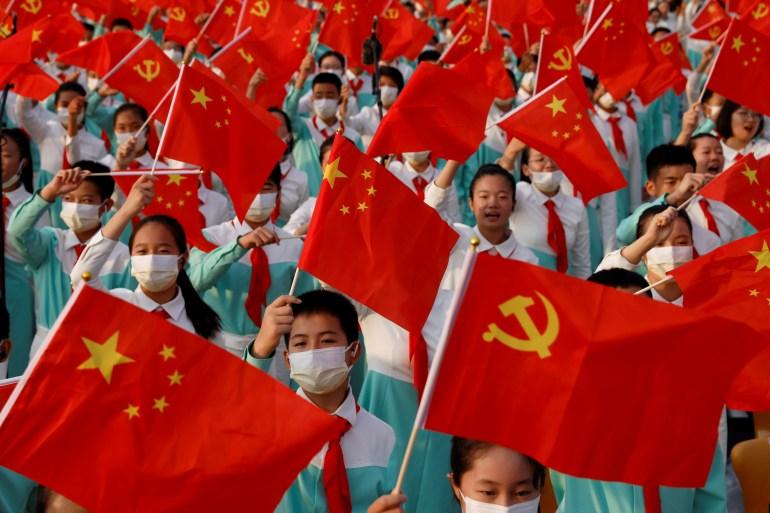 Xi says no more 'bullying' as China marks party centenary | Politics News | Al Jazeera