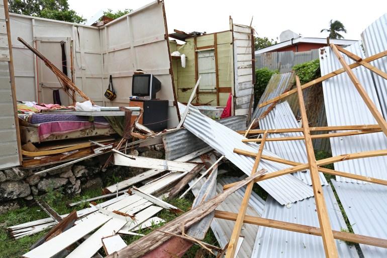 Schäden durch Elsa in St. Michael, Barbados | Bildquelle: https://t1p.de/p3nh © Nigel Brown/REUTERS | Bilder sind in der Regel urheberrechtlich geschützt