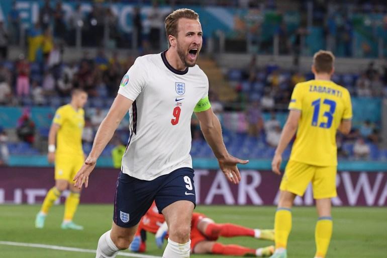 Kane Leads England Past Ukraine And Into Euro 2020 Semi Finals Euro2020 News Al Jazeera