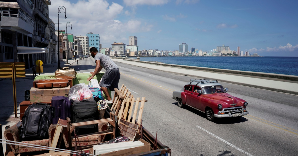 Cuba sets an evacuation plan in motion: 180,000 people moved to safe places as Tropical Storm Elsa rushes in.
