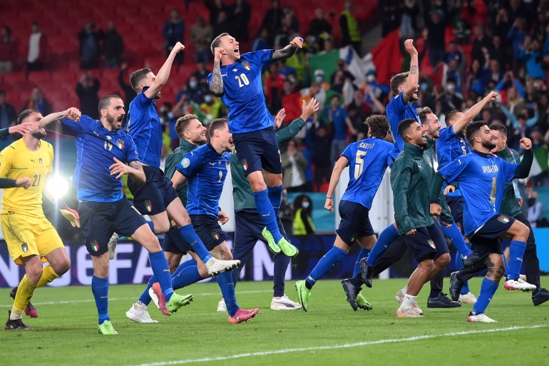 Italy edge out Spain on penalties to reach Euro 2020 final | Euro2020 News  | Al Jazeera