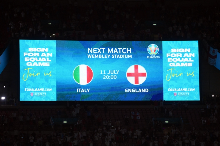 Euro 2020 final time